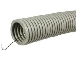 Труба ПВХ гофрир. d 20 с зондом