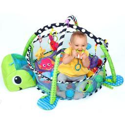 Infantino Детский развивающий коврик 2 в 1 Растем вместе
