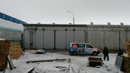 Сушильный комплекс СКД-100 с калориферами номинальной мощностью 700 кВт.