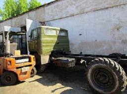 Грузовой автомобиль ГАЗ-66 шасси