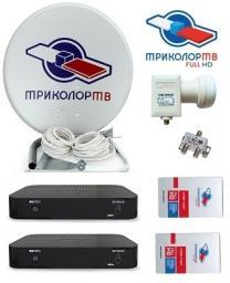 Комплект Триколор ТВ Full HD на 2 ТВ Full HD GS-B522