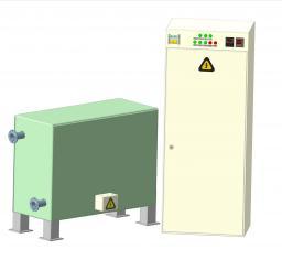Индукционный нагреватель отопления ИКН-400