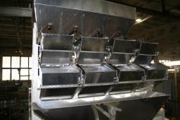 Автомат ФУ «Макиз-Компакт У-03» (серия 055, исполнение 31К, трехручьевой однокаскадный дозатор, дополнительный комплект ковш.. пневмопривод)