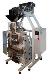 Автомат ФУ «Макиз-Компакт У-03» (серия 057, исполнение 22, для упаковки в любые пленки до 5 кг, двухручьевой двухкаскадный дозатор, пневмопривод)