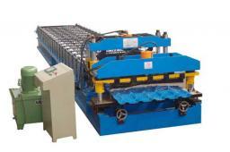 JC-1100 Машина для производства глазурированной металлочерепицы