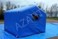 Палатка двухскатная пневмокаркасная А-ПКП-А14 Азарт