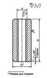 Муфта анкерная ГОСТ 24379.1-2012, 64 мм