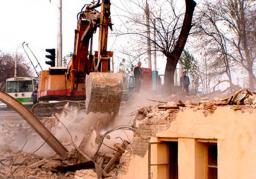 демонтаж ветхих деревянных сооружений