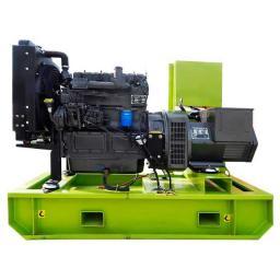 Дизельный генератор 10 кВт открытый на раме