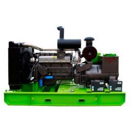 Дизельный генератор 20 кВт открытый на раме