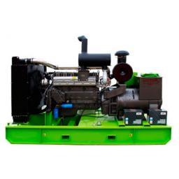Дизельный генератор 50 кВт открытый на раме