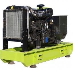 Дизельный генератор 60 кВт открытый на раме