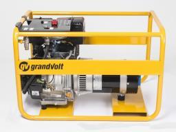 Газовый генератор GrandVolt GVK 7000 T G
