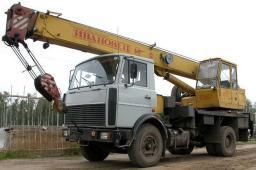 Аренда услуги автокрана Ивановец 14 тонн