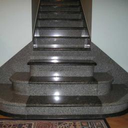 Лестница из гранита Labrador Blue Pearl