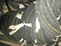 Рукав напорный резиновый ГОСТ 18698-79 тип Пар 2 (X)-8-32-56-У