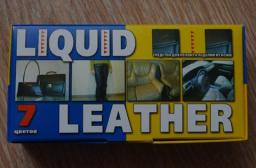Комплект Жидкая Кожа Liquid Leather средство для ремонта кожаных изделий, предметов и вещей