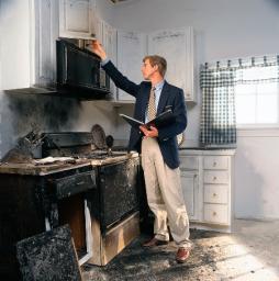 Оценка ущерба нанесенного недвижимости и имуществу.
