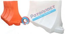 Пластиковые дорожные разделительные и опорные блоки, в т.ч. водоналивные