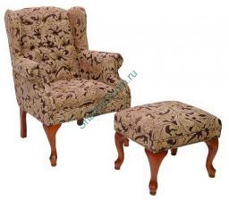 Кресло Дели с банкеткой