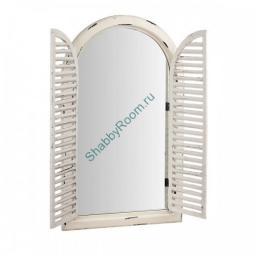 Зеркало-окно Винтаж со ставнями