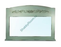 Зеркало c полкой (Зеркало с полкой бирюзовый)
