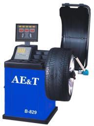 AET Балансировочный станок для легковых автомобилей В-829