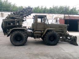 Полковая землеройная машина ПЗМ-2на базе трактора Т-150 с хранения