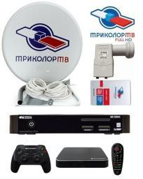 Комплект Триколор ТВ на 2 телевизора GS E501/GS Gamekit Full HD