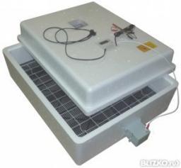 Инкубатор Несушка БИ-2м 77 яиц U=220/12В цифр.терм, авт. пов+гигрометр №63г