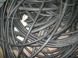 Шнур резиновый 1-1С прямоугольный 5х25 мм