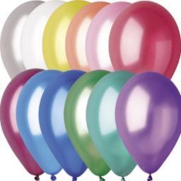 Воздушные шарики маленькие, 100 штук (Gemar)
