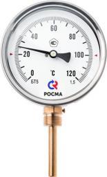 Термометры общетехнические (радиальное присоединение)