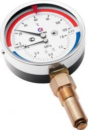 Термоманометр ТМТБ-4 (радиальный)