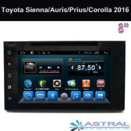 OEM Автозвук магнитола с глонасс GPS Toyota Sienna Auris Prius Corolla 2015 2016