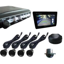 RPV-001 - Парковочный радар с входом для камеры (Видеопарктроник)
