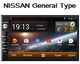 FlyAudio G8006H01 - Штатное головное устройство для Nissan General Type