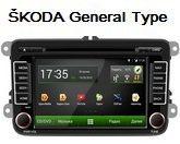 FlyAudio G8007H09 - Штатное головное устройство для Skoda General Type