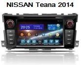 FlyAudio G7129F01 - Штатное головное устройство для Nissan Teana 2014