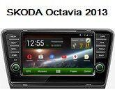 FlyAudio G8166H01 - Штатное головное устройство для Skoda Octavia A7 2013-2015 г.в