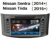 FlyAudio G8118H01 - Штатное головное устройство для Nissan Sentra (2014+) и Nissan Tiida (2015+)