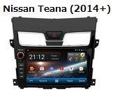 FlyAudio G8825H01 - Штатное головное устройство для Nissan Teana (2014+)