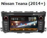 FlyAudio G8129H01 - Штатное головное устройство для Nissan Teana (2014+)