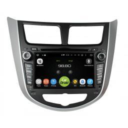 CarDroid RD-2003 - Штатное головное устройство для Hyundai Solaris (Android 5.1.1)