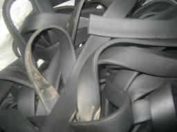 Шнур резиновый 1-1С прямоугольный 6,3х32 мм