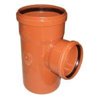 Тройник ПВХ для наружной канализации