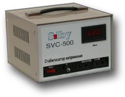 Стабилизатор напряжения однофазный электромеханический Solby SVC-500 (Solpi)