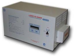 однофазный стабилизатор напряжения lider PS 5000W-30 (лидер)