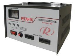 стабилизатор напряжения ресанта АСН-1000 / 1-ЭМ (resanta)