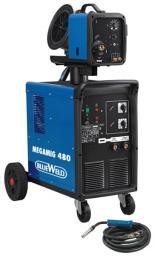 сварочный полуавтомат Blueweld Megamig 480 R A